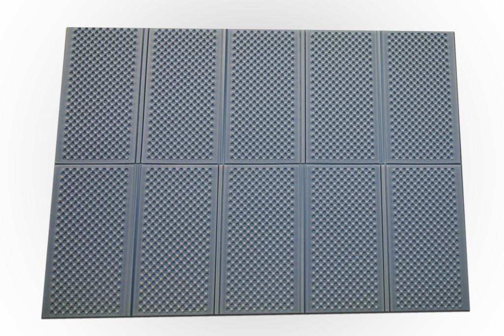 Casmatino kempingová skládací podložka MODRÁ - 2000x1400x10