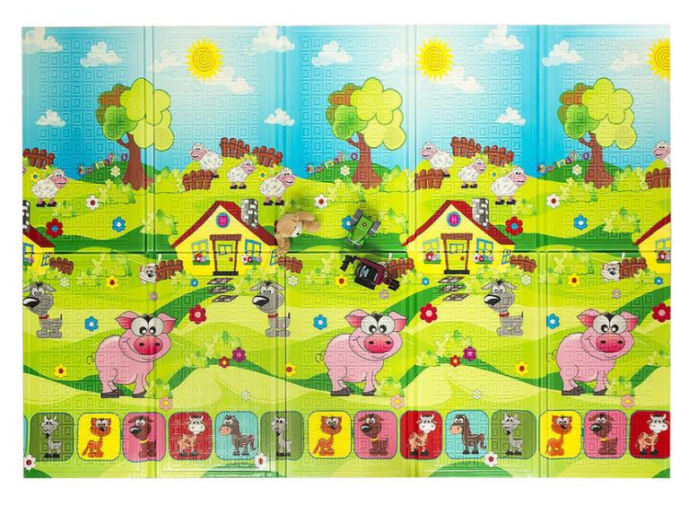 Casmatino dětská skládací podložka PIGGY - 2000x1400x10